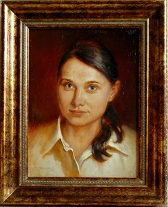 Portrait of Mrs. Vasilieva